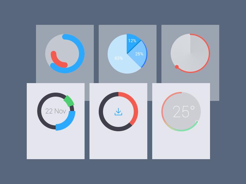 Radial Elements UI