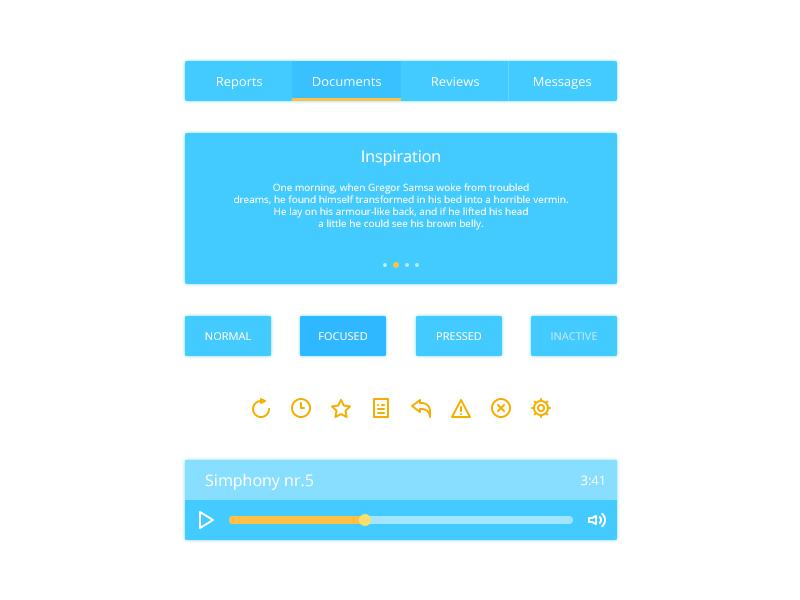 Blue Web Components UI Kit
