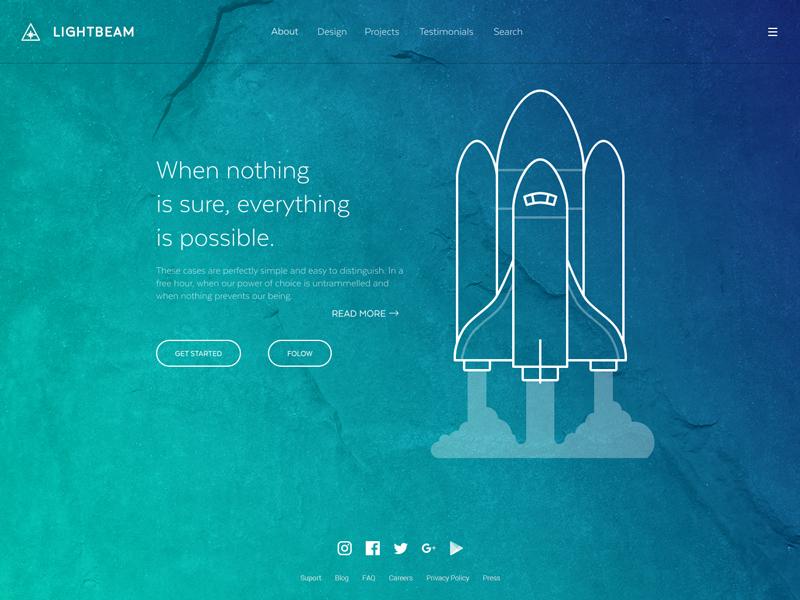 Launch Webpage UI