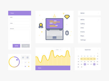 UI Kit & Illustration