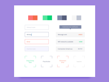 Style Guide UI Elements preview picture
